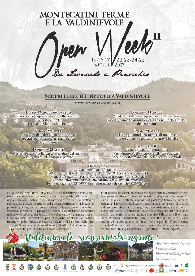 Open Week in Valleriana